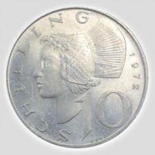 10 Schilling Silber Österreich 1957 – 1973