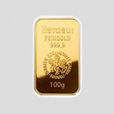 100 Gramm Goldbarren Münze Österreich LBMA zertifiziert
