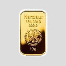 10 Gramm Goldbarren - Kinegram Münze Österreich geblistert mit Zertifikat