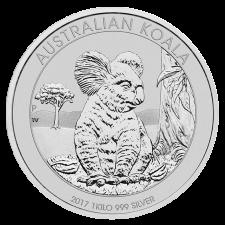 1 Kilogramm Koala Silber, Differenzbesteuert § 24 UStG