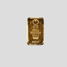 250 Gramm Goldbarren Münze Österreich LBMA zertifiziert