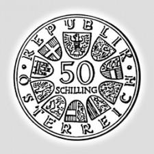 50 Schilling Silber Österreich 1959 - 1973