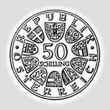 50 Schilling Silber Österreich 1974 – 1978