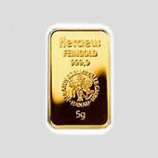 5 Gramm Goldbarren - Kinegram Münze Österreich geblistert mit Zertifikat
