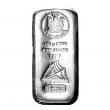 500 Gramm Silber Fiji Silbermünze (Sonderprägung in Barrenform), Differenzbesteuert § 24 UStG