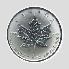 1 Unze Maple Leaf Silber, Differenzbesteuert § 24 UStG