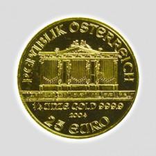 1/4 Unze Philharmoniker Gold Europrägung