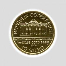 1/10 Unze Philharmoniker Gold Europrägung